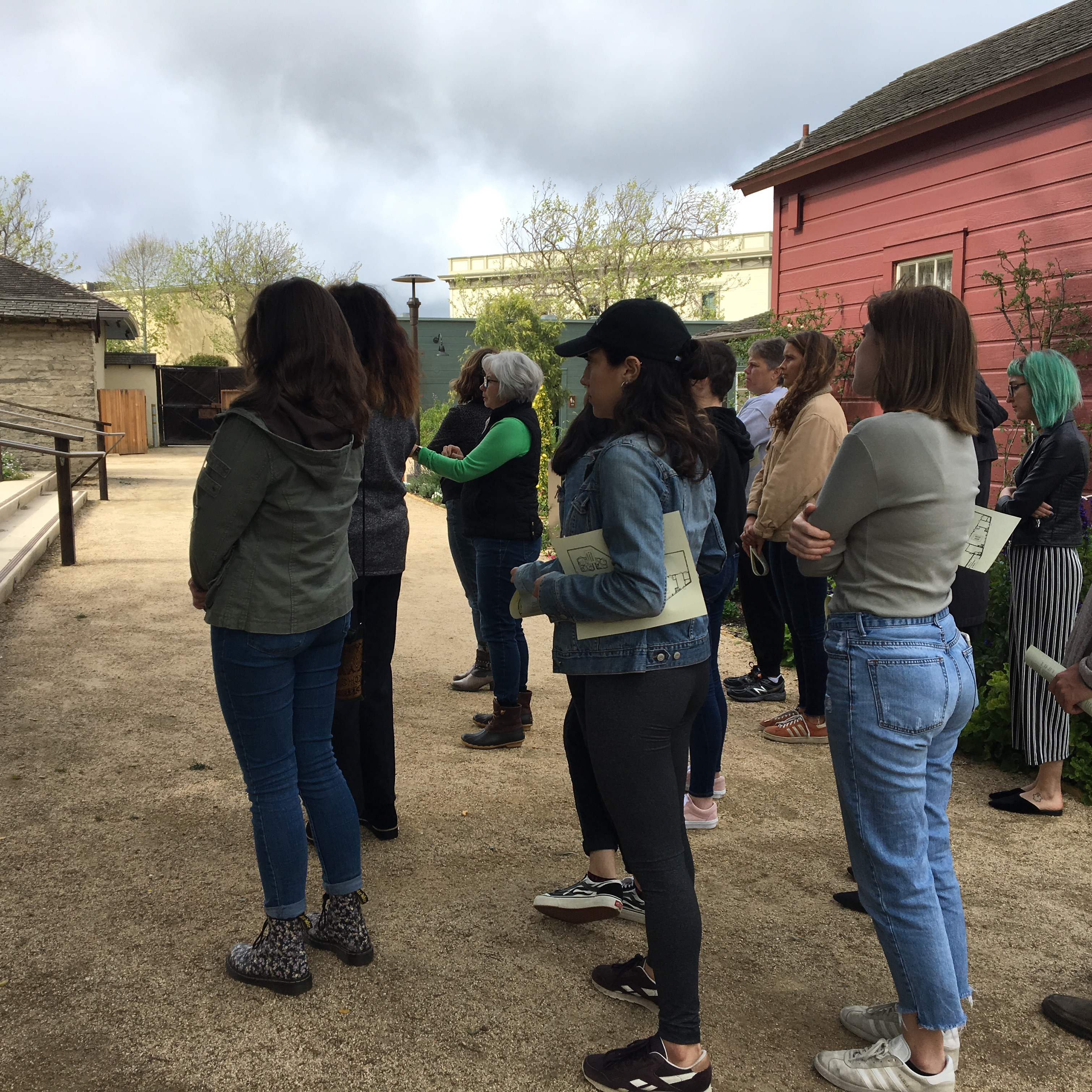 Tour of Cooper-Molera grounds 2019 © The National Trust for Historic Preservation