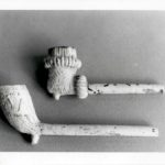 Clay Pipes  Photo by Marcia deVoe 1981