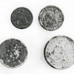Dime, Nickel, Two Quarters Photo by Marcia deVoe 1981