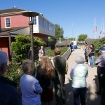 Ribbon Cutting ceremony during re-opening of Cooper Molera Adobe Complex in September 2018 © The National Trust for Historic Preservation