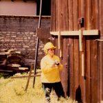 Photo of Marcia de Voe, Documentary Photographer of the 1979 restoration of Cooper Molera Adobe complex