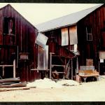 Photo of Barns at Cooper Molera before Restoration 1987 Charles M Bancroft