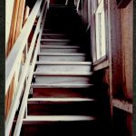 Staircase going up- 1987 Charles M Bancroft