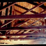 Beams of the ceiling- 1987 Charles M Bancroft